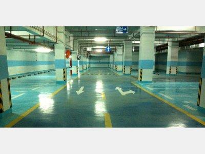 亿嘉国际大酒店地下停车场环氧地坪